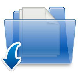 icône Télécharger des documents